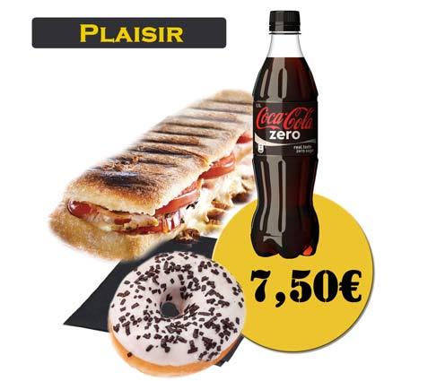 Panini - En'K - formule plaisir - Boisson 50cl