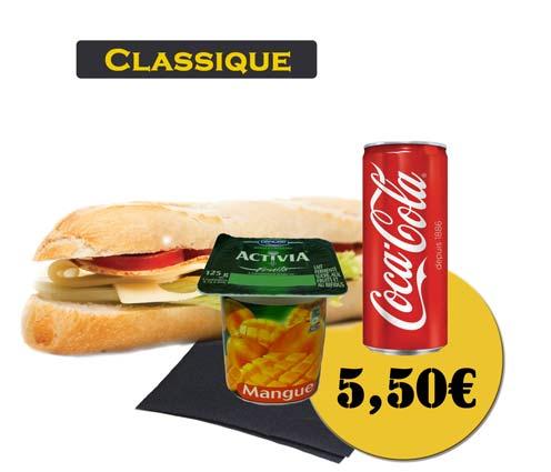 Sandwich - En'K-formule classique - Boisson 33cl
