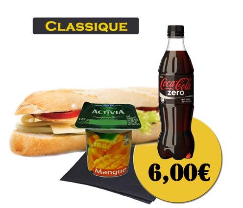 Sandwich - En'K - Formule Classique - Boisson 50cl