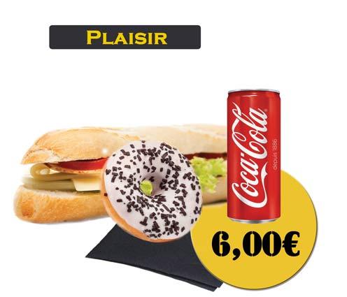 Sandwich - En'K - formule plaisir - Boisson 33cl
