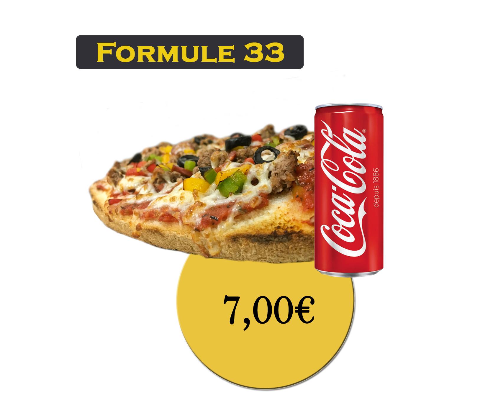 Formule 33 : Bruschetta + Boisson 33cl - En'K