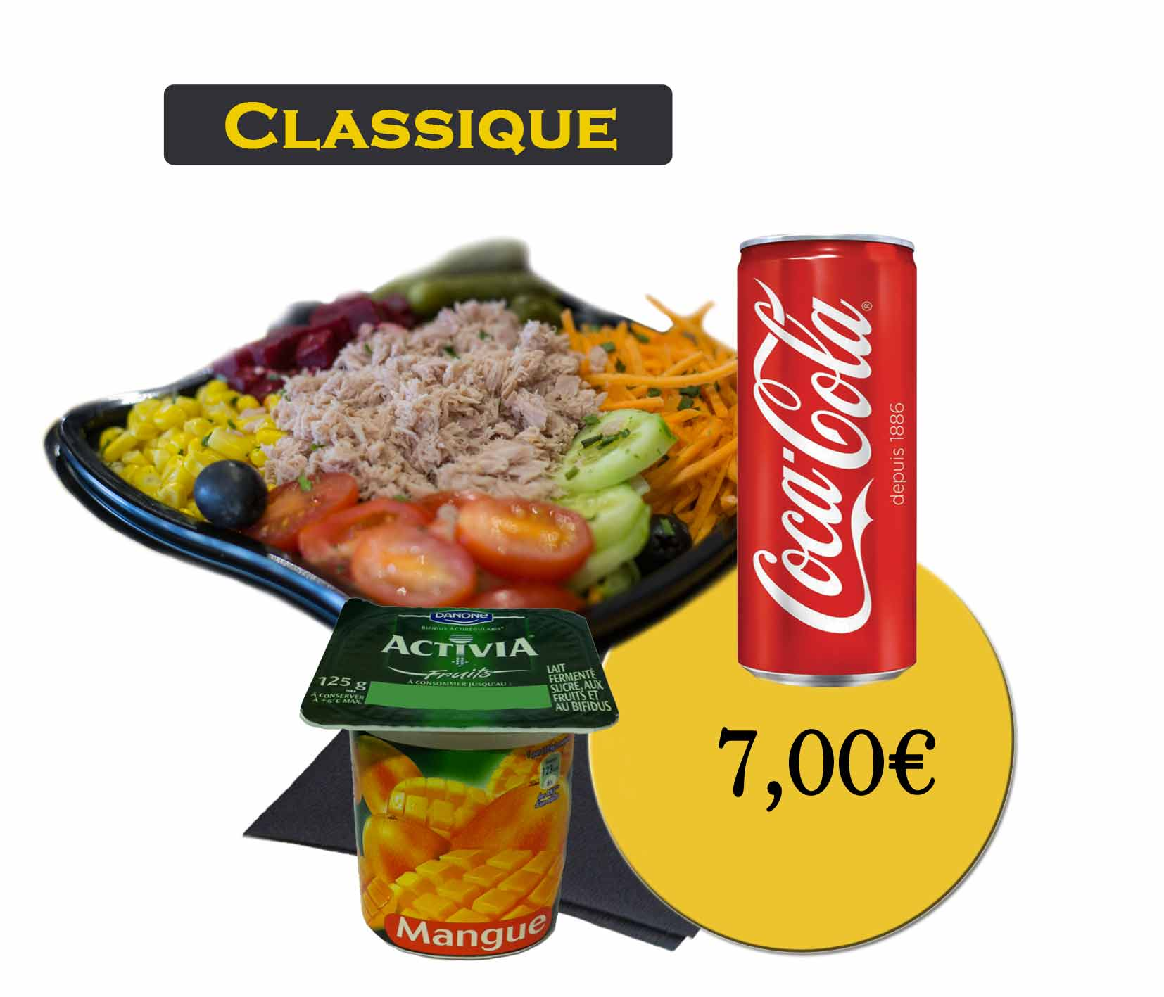 formule classique salade-En'K-boisson 33cl