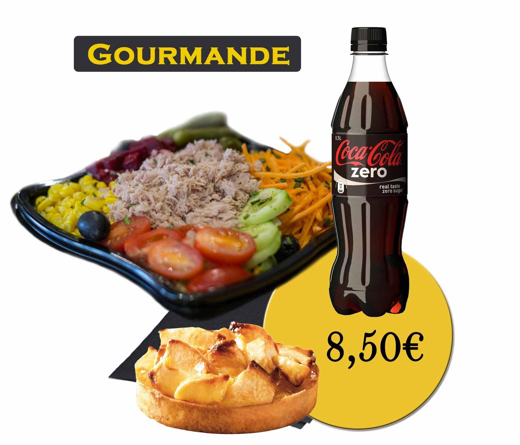 formule gourmande salade-En'K-boisson 50cl