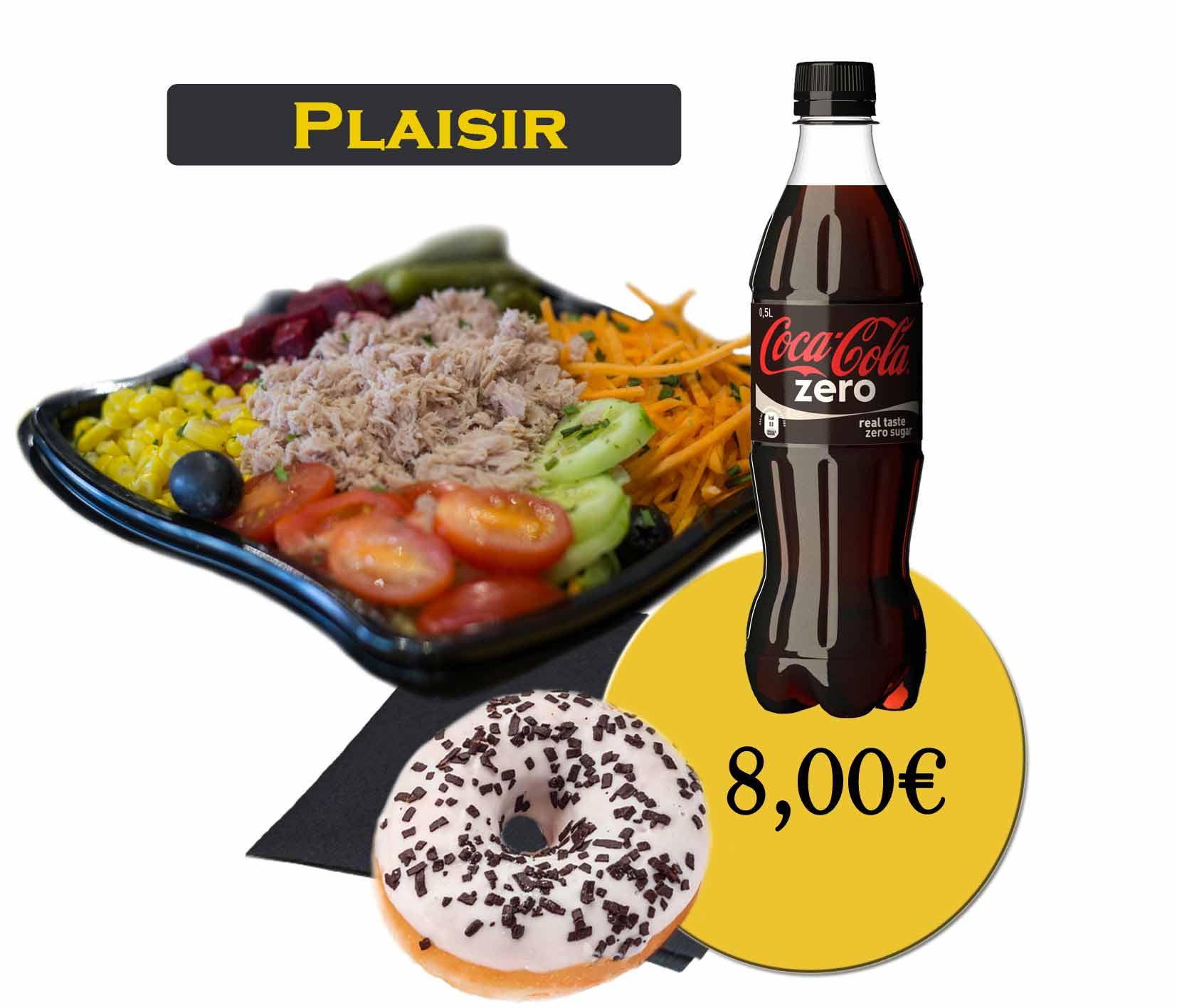 formule plaisir salade-En'K-boisson 50cl