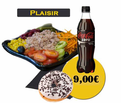 formule plaisir salade-Site En'K - boisson50
