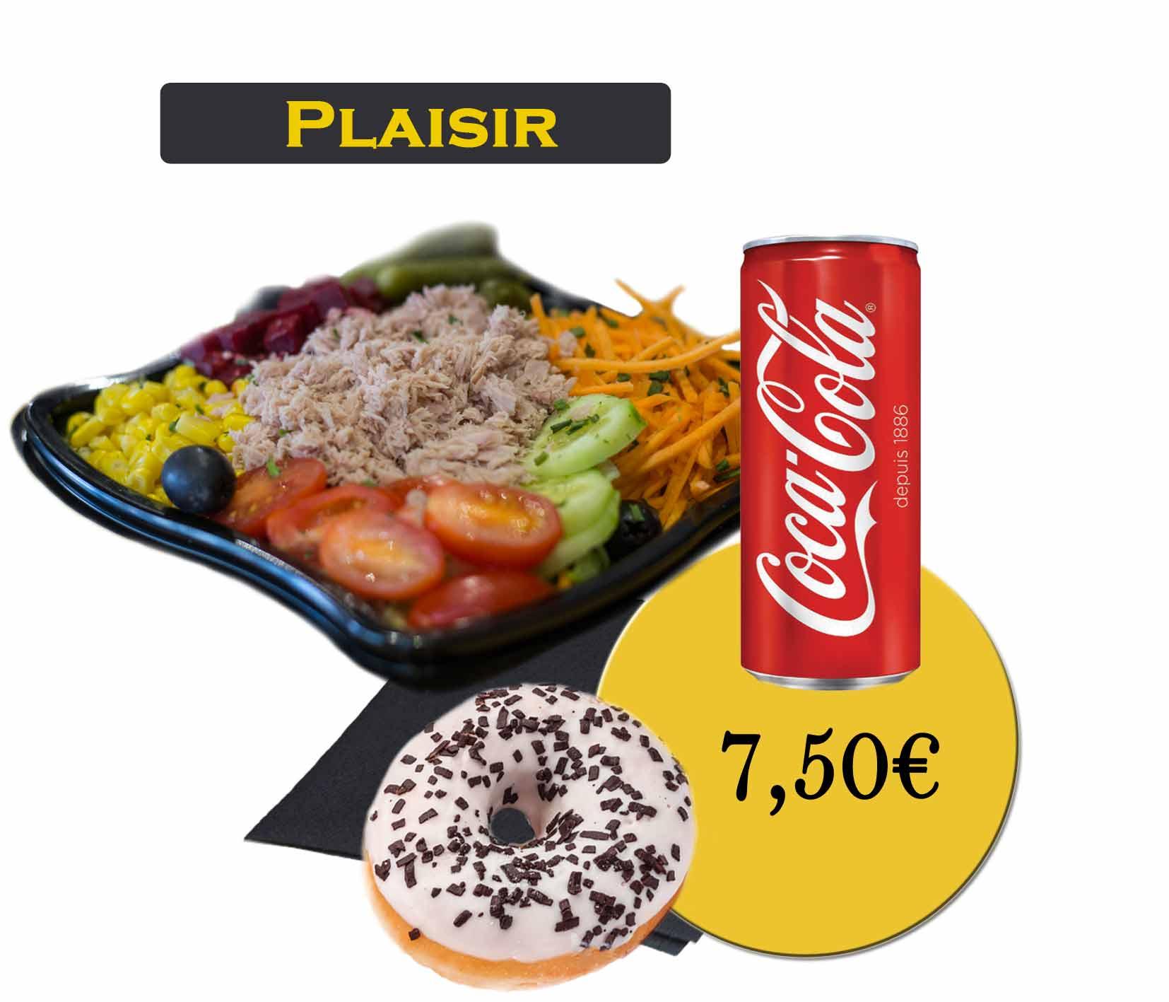 formule plaisir salade-En'K-boisson 33cl