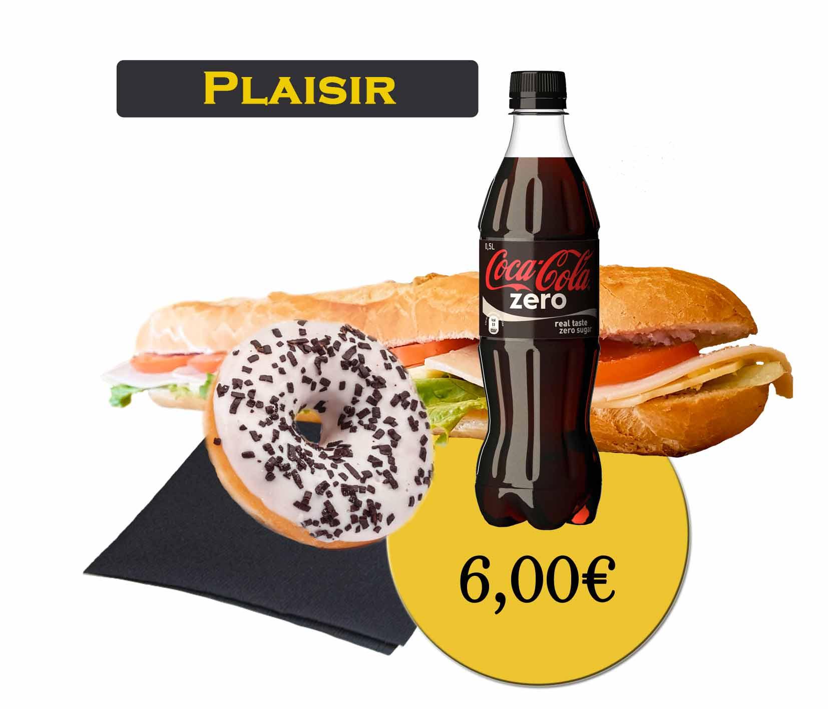 formule plaisir sandwich - En'K - boisson 50cl